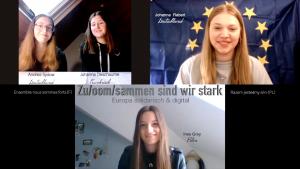 Zu/oom/sammen sind wir stark – Europa digital und solidarisch – ein Kurzfilm von Susanna Wüstneck und Ulla Wolanewitz jetzt online!!
